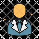 Businessman Manager Banker Icon