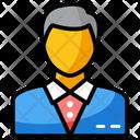 Employer Entrepreneur Man Icon
