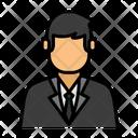 Businessman Professional Occupation Icon