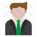 Businessman Job Avatar Icon