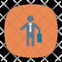 Businessman Profile User Icon