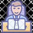 Businessman Businessperson Office Employee Icon