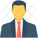 Businessman Manager Person Icon