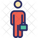 Businessman Business Person Manager Icon