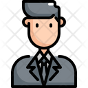 Businessman Business Office Icon