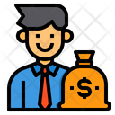 Businessman Financial Icon