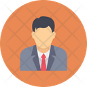 Businessman Professional Manager Icon