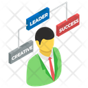 Businessman Corporate Manager Business Manager Icon