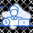 Businessman Businessperson Entrepreneur Icon