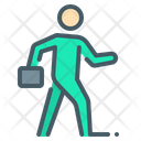Human Go Walk Icon