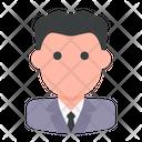 User Businessman Profile Icon