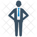 Businessman Executive Manager Icon