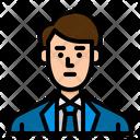 Businessman Manager Man Icon