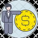 Business Businessman Money Icon