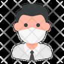 Businessman Avatar Man Icon