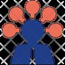 Mind Connect Business Businessman Icon