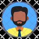 Avatar People Beard Icon