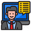 Man Inbox Message Icon