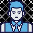 Businessman Male Avatar Icon