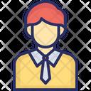 Businessman Avatar Boy Icon