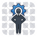 Businessman Manager Specialist Icon