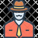 Businessman Man Gentleman Icon