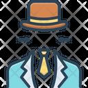 Businessman Vanishing Evanescence Icon