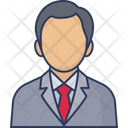 Manager Employee Businessman Icon