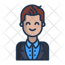 Businessman Manager Employee Icon