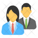 Business Persons Colleagues Icon