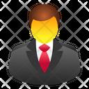 Entrepreneur Employee Businessman Icon