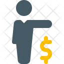 Businessman Business Administration Icon