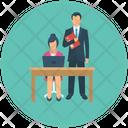 Businessman Team Work Office Work Icon