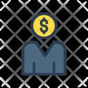 Businessman Account User Icon