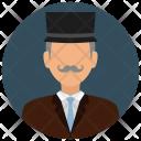 Businessman Elderly Man Icon