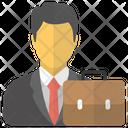 Businessman Employer Entrepreneur Icon