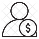 User Money Coin Icon
