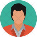Businessman Employee Manager Icon
