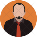 Businessman Avatar Manager Icon