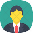 Avatar Businessman Manager Icon