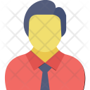 Banker Accountant Businessman Icon