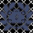 Businessman Badge Icon