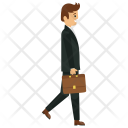 Businessman Character Icon