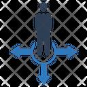 Businessman Choice Icon