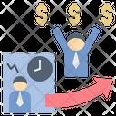 Businessman Freedom Icon