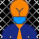 Businessman Idea Icon