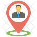 Business Location Map Icon