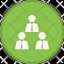 Businessman Meeting Icon