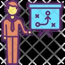 Businessman Planning Icon