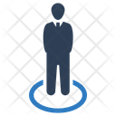 Businessman Position Icon